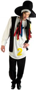 1980s Boy George Pop Star Costume